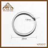 Anello chiave piano piacevole di qualità 23mm nel commercio all'ingrosso del nichel