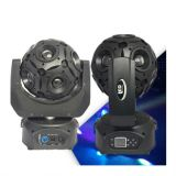 2016 nieuwste 12PCS RGBW 4in1 Football LED Moving Head Stage Light
