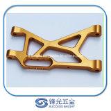 Partes que trabajan a máquina 100% del CNC de la garantía de calidad del OEM W-010