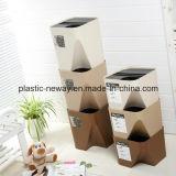 쌓을수 있는 새로운 디자인 플라스틱 쓰레기통