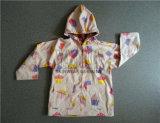 Fashion Waterproof Children Rain Jacket for Daily Use