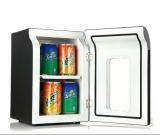 Mini litro portátil DC12V do refrigerador 6 com adaptador da C.A. (100-240V)
