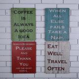أثاث لازم حلى خشبيّة/حرفات خشبيّة يعلّب حلى لأنّ جدار فنية