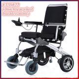 Portátil silla de ruedas ligera plegable de la energía sin escobillas con LiFePO4