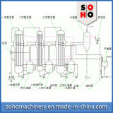 Evaporador do leite condensado do evaporador do vácuo do leite do suco do preço de fábrica do Zn