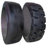 La prensa estupenda de la calidad en la prensa de los neumáticos sólidos de los neumáticos en el sólido pone un neumático 21*7*15