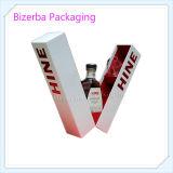 Rectángulo de regalo de empaquetado del vino de papel rígido de la alta calidad