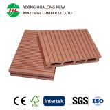 Decking composto plástico de madeira do revestimento ao ar livre de WPC com Ce (M19)