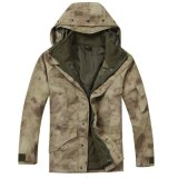 中羊毛のジャケットが付いている軍の寒い気候のParka