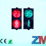 El OEM y el ODM hicieron que LED el semáforo peatonal con cuenta descendiente mide/el temporizador de la cuenta descendiente