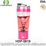 [500مل] [بورتبل] بلاستيكيّة دوّامة بروتين خلّاط زجاجة, بلاستيكيّة كهربائيّة بروتين رجّاجة زجاجة ([هدب-0619])