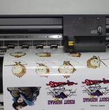 Bedruckbares Vinly Eco zahlungsfähiges Tinten-Kopierpapier für Eco zahlungsfähige Tinte auf Dunkelheit/hellem Baumwollgewebe