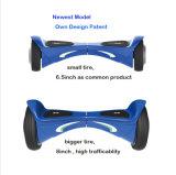 Dubbele Elektrische Autopedden 6.5 '', Autoped van het Saldo van Wholesales Bluetooth van de Autoped van het Wiel Zelf van 8 Wielen van de Duim '' de Dubbele