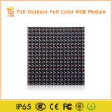 Placa de indicador ao ar livre P10 do diodo emissor de luz da cor cheia de Digitas (160mm*160mm)