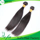 Extensão não processada quente do cabelo humano de Remy do cabelo do Virgin do Indian 100% de 2016 vendas