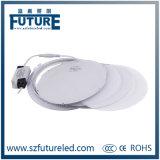 Futuro che fonde sotto pressione intorno all'illuminazione di comitato del LED da 3W a 24W