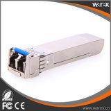 10GBASE-LR SFP +, 1310nm, 10km, hot pluggable transceptores ópticos ativos LC com DDM