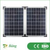等級の太陽電池が付いている20W太陽モジュール