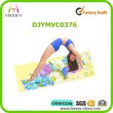 Прочным напечатанная цветом циновка йоги, подвергает Washable механической обработке