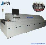 Horno que suelda del PWB de 10 zonas para la producción del LED
