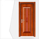 Porte bon marché de placage de PVC de portes intérieures
