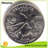 Monedas de la venta directa de la fábrica al por mayor y aduana muchos animales representativos nacionales autónomos del nuevo diseño de la moneda de plata