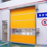 Fabricación de alta velocidad rápida de las puertas del balanceo del alto rendimiento de la tela de China (HF-2024)