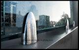 Spigot австралийского Q-рельса нержавеющей стали рынка стеклянный (HR1300V-14)