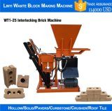 Wt1-25 Interlocking Clay e Cement Brick Block Machine para Sale