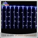 Beleuchtet Vorhang-helles Feiertags-Weihnachtsim freieneiszapfen 220V/110V