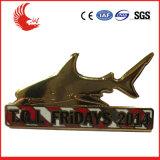 Großverkauf kundenspezifische fördernde Metallabzeichen