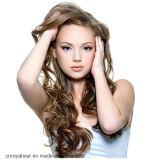 Populairste Manier Natuurlijke Lange Jerry Curly Hair Extension