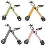 Portable leve super de três rodas que dobra a E-Bicicleta elétrica da bicicleta