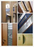 Entrée Porte en bois Porte coupe-feu pour appartement et villa Porte en bois 100% Bm Trada et norme de porte certifiée UL Fire Proof
