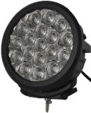 Schwarzer Round 7inch 90W Spot/Flood CREE LED Work Lights