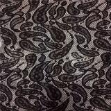 Ткань шнурка Raschel горячего хлопка сбывания Nylon