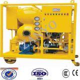 Double machine de déshydratation d'huile isolante de vide d'étape