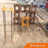Parafusos de ancoragem 4-M20 para luzes de rua solares de 8 m