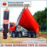 Construção cilindro hidráulico para o caminhão