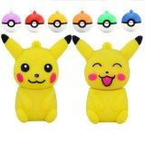 De Aandrijving van de Pen van de Schijf van U van de Stok van het Geheugen van de Aandrijving van de Flits van Pikachu USB van de Bal van Pokemon