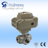 Pneumatisches Clamp Non-Retention 3PC Ball Valve