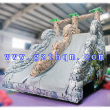 Mini inflable Water Slide Water Slide Park / inflable gigante Agua para Adultos