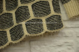 Couche frangée brouillée de l'hiver de cardigan de Knit de cascade à écriture ligne par ligne pour des femmes