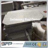 Telha de pedra natural preta do granito para bordadura lidar/associação da piscina/pavimentação da associação