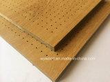 El panel acústico de madera laminado de Peforated de la alta presión