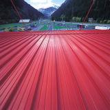 現代着色されたアルミニウム地位の継ぎ目の金属の屋根ふき