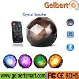 Haut-parleur magique de Bluetooth de boule de cristal d'éclairage LED à télécommande