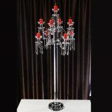 Highend Crystal Candle Holder pour mariage décoratif