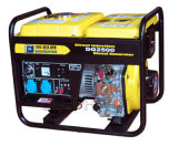 6.0kw Air Cooled Portable Diesel Generator con Handle e Wheels
