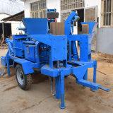 双生児はM7miのディーゼル移動式粘土の煉瓦機械を形成する